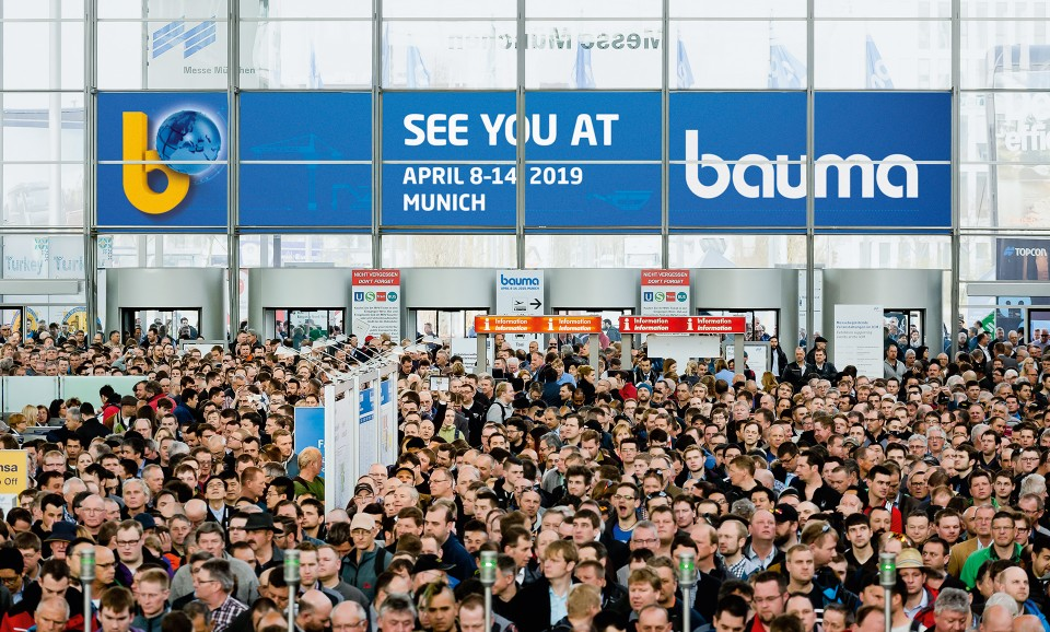 Beltimport на выставке BAUMA 2019!