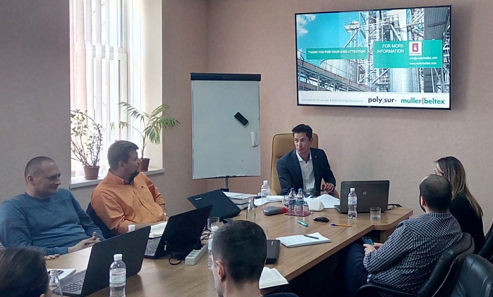 Technical workshop on products for elevators and transshipment terminals