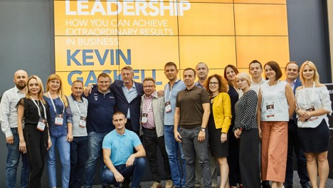 Kevin Gaskell's intensive for new time leaders