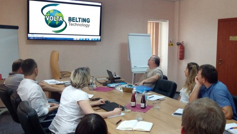 Technical workshop on polyurethane belts from Volta