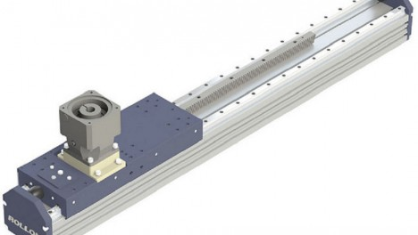 Rollon completes its range of actuators with the rack and pinion R-Plus System series